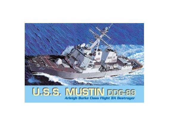 1:700 U.S.S. Mustin DDG-89