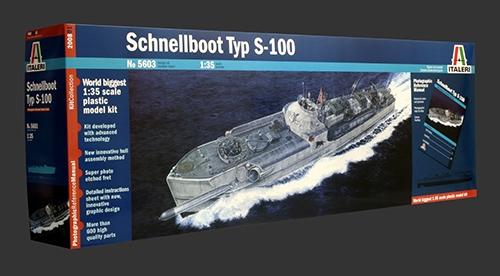 1:35 SCHNELLBOOT TYP S-100