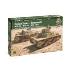 Model Kit military 15768 - Italian Tanks - Semoventi M13/40 - M14/41 - M40 - M41 (1:56)