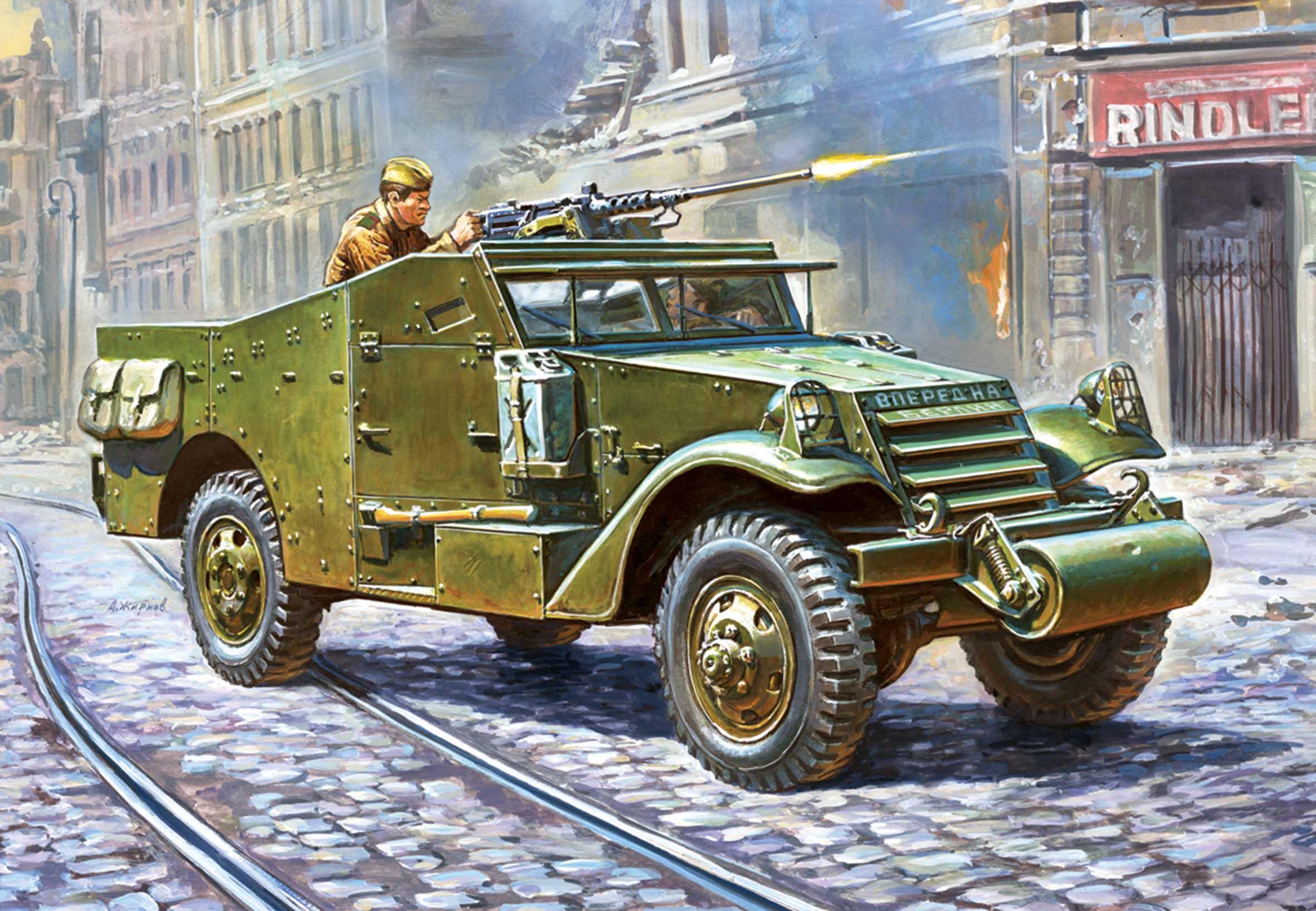 1:35 M-3 Scout car