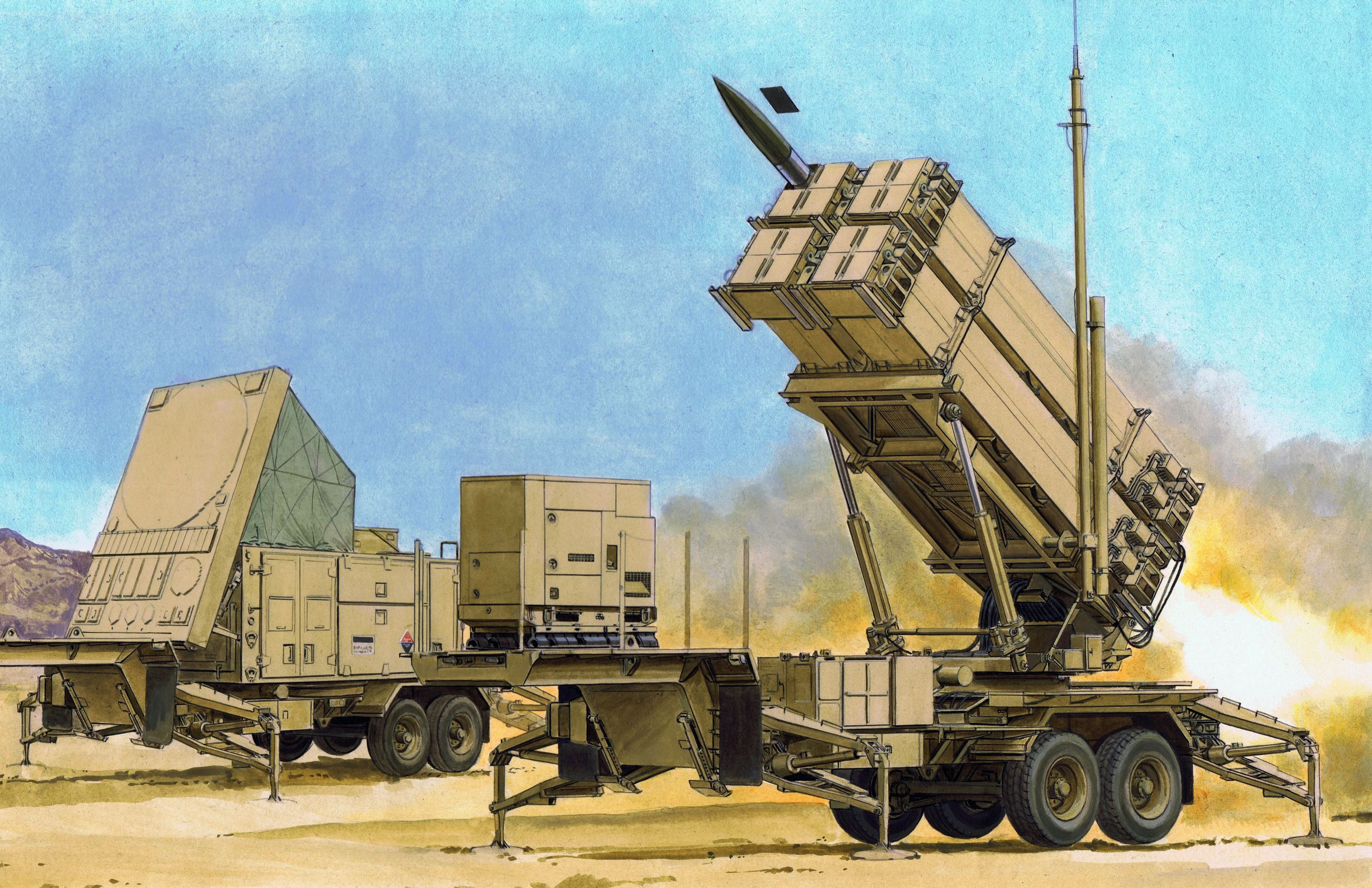 1:35 MIM-104F PATRIOT SURFACE-TO-AIR MISSILE (SAM) SYSTEM (PAC-3)