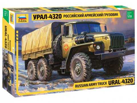 1:35 Russian Army Truck Ural-4320
