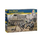 Model Kit military 6549 - STEYR RSO/01 with GERMAN SOLDIERS (1:35)