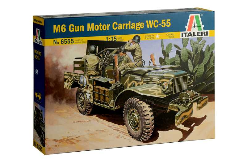 1:35 M6 Gun Motor Carriage WC-55