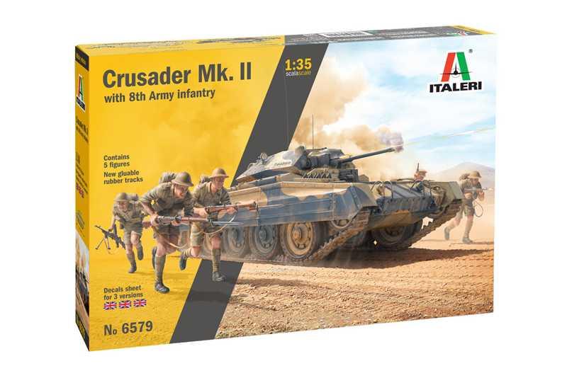 1:35 Crusader Mk.II w/ 8th Army Infantry