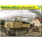 Model Kit military 6684 - GERMAN RSO/03 ARTILLERY TRACTOR w/5cm PaK 38 (SMART KIT) (1:35)