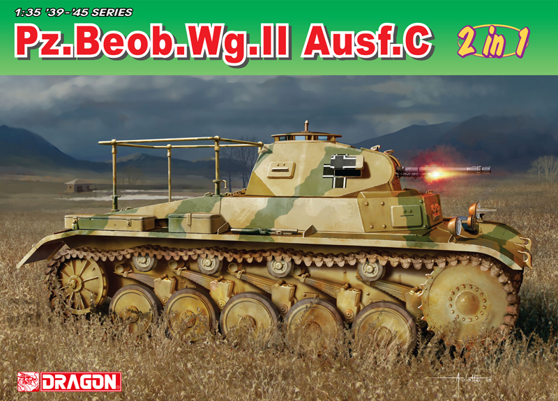 Model Kit military 6812 - Pz.Beob.Wg.II Ausf. A-C (1:35)
