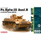 Model Kit military 6956 - Pz.Kpfw.III Ausf.N s.Pz.Abt.501 Tunisia 1942/43 (Neo Smart Kit) (1:35)