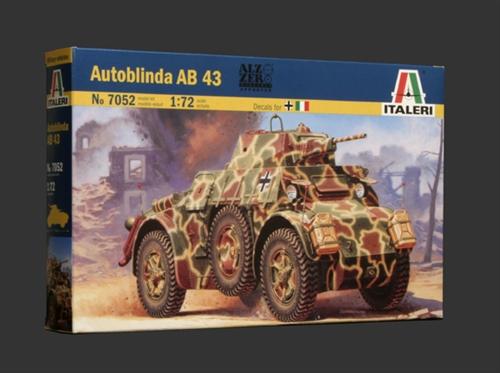Náhľad produktu - 1:72 Autoblinda AB 43