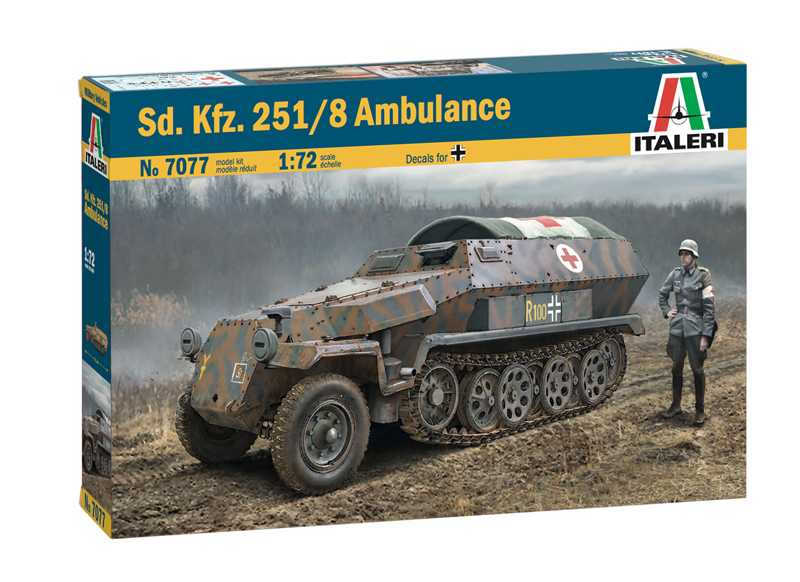 1:72 Sd.Kfz.251/8 Ambulance