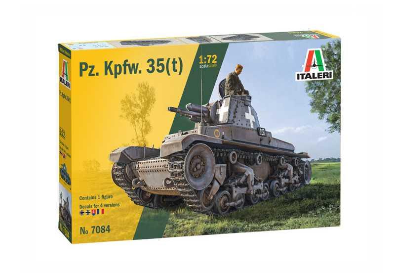 1/72 Plastikový model - military 7084 - Pz. Kpfw. 35(t)