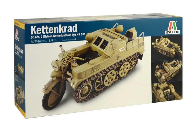 Model Kit military 7404 -  HK 101 KETTENKRAD (1:9)
