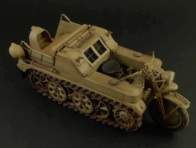 1:9 Sd.Kfz.2 Kleines Kettenkraftrad Typ HK 101