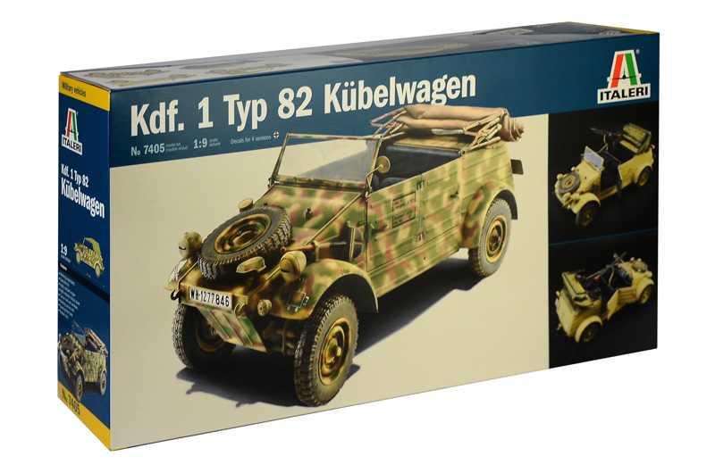 1:9 Kdf.1 Typ 82 Kübelwagen