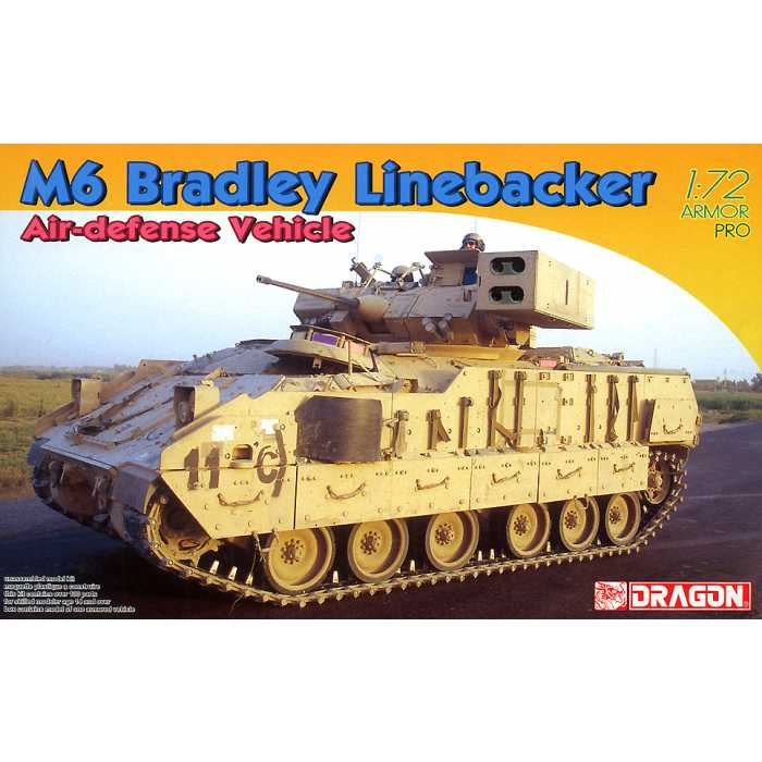1:72 M6 Bradley Linebacker Air-Defense Vehicle