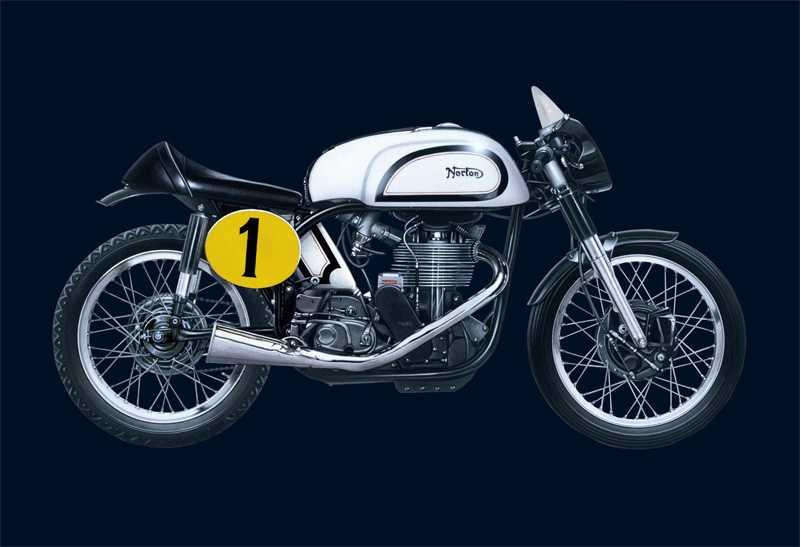 1:9 Norton Manx 500cc (1951)