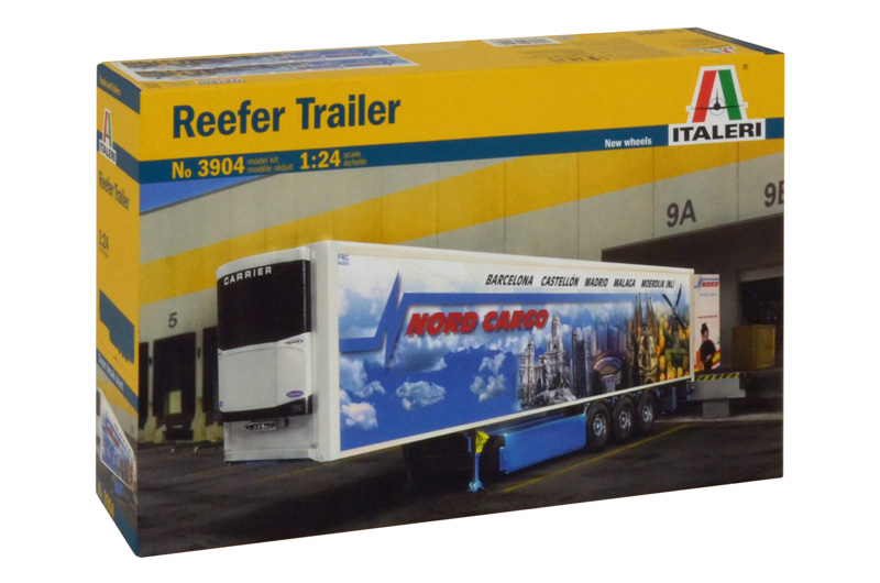 Model Kit návěs 3904 - REEFER TRAILER (1:24)