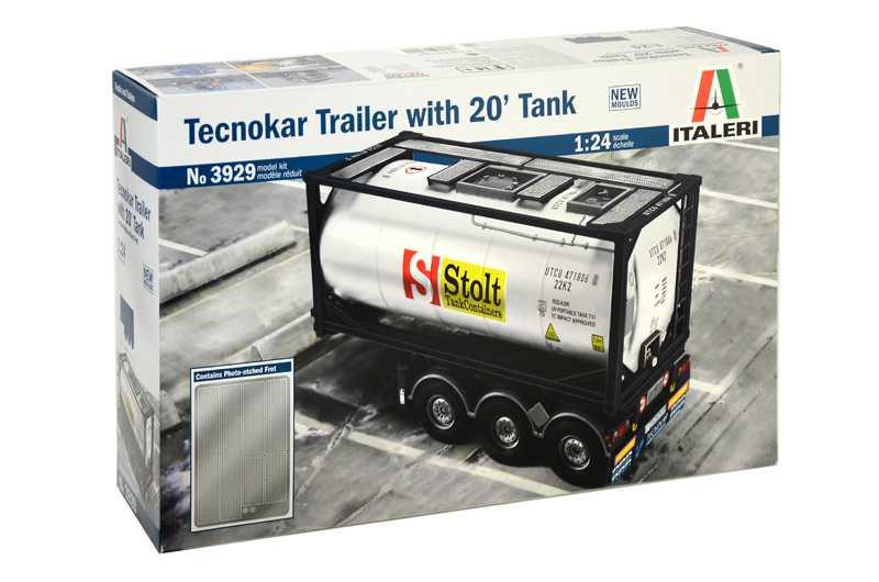 1:24 Tecnokar Trailer with 20' Tank