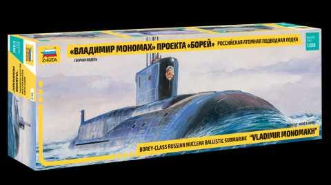 1:350 Borey-Class Nuclear Submarine