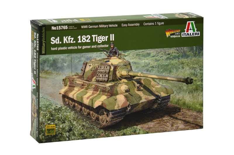 Náhled produktu - 1:56 Sd.Kfz.182 Tiger ll