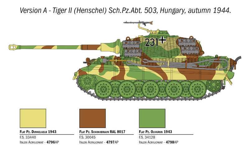 1:56 Sd.Kfz.182 Tiger ll