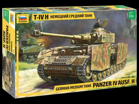 Model Kit tank 3620 - Panzer IV Ausf.H German Medium Tank (1:35)