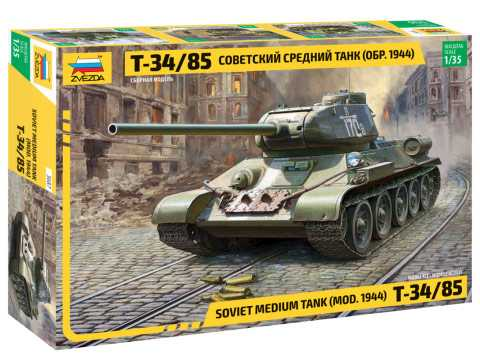 1:35 T-34/85 Soviet Medium Tank, Mod. 1944 (New Tool)
