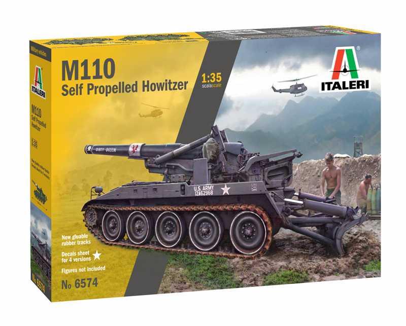 1:35 M110 Self Propelled Howitzer