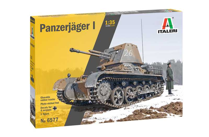 1/35 Plastikový model - tank 6577 - Panzerjager I