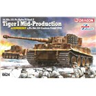 Model Kit tank 6624 - Sd.Kfz.181 Pz.Kpfw.VI Ausf.E Tiger I Mid Production w/Zimmerit s.Pz.Abt.506 Eastern Front 1944 (1:35)