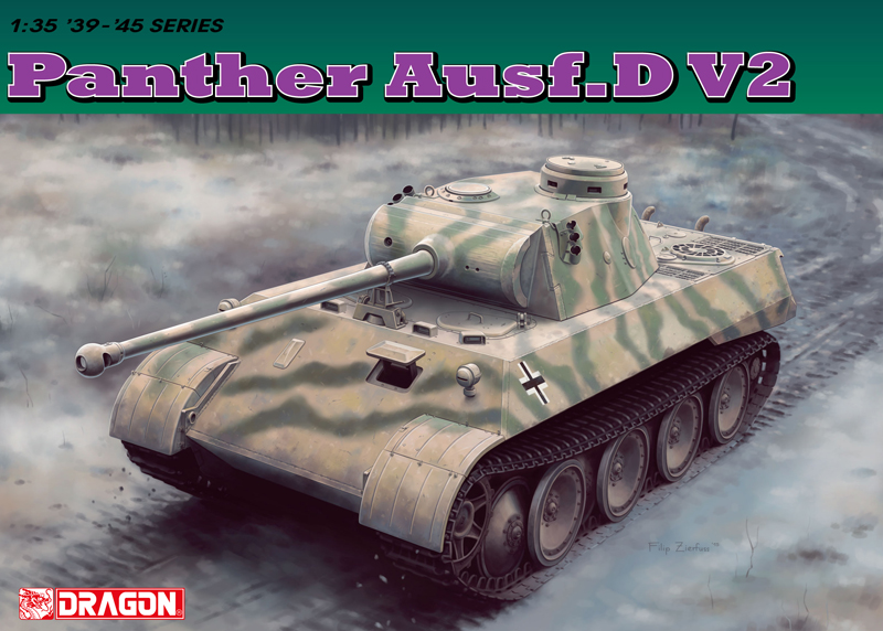 1:35 Panther Ausf.D V2