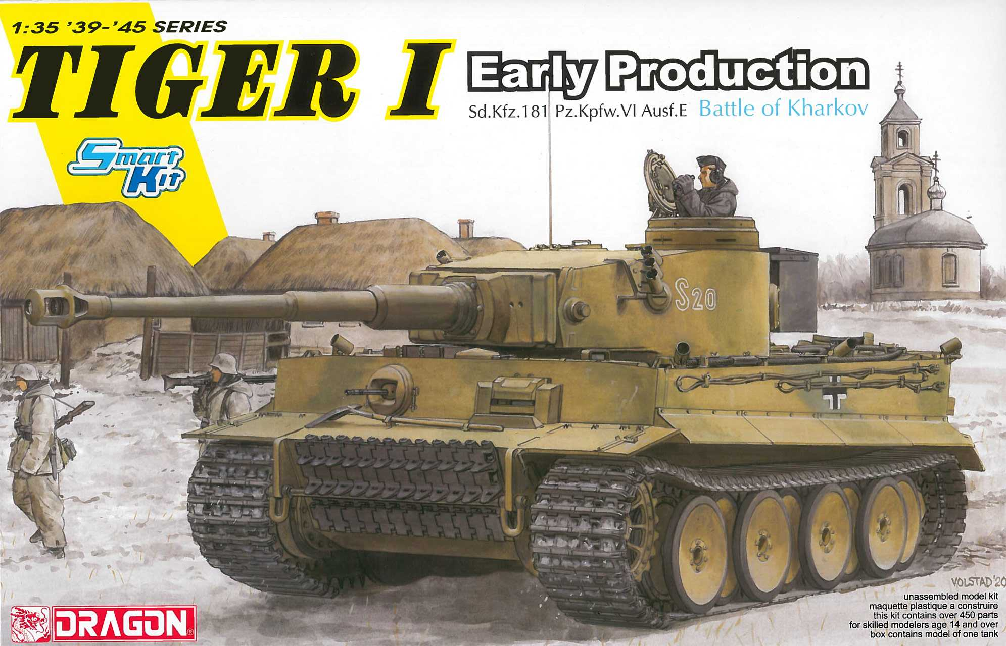 1:35 Tiger I Early Production, Battle of Kharkov