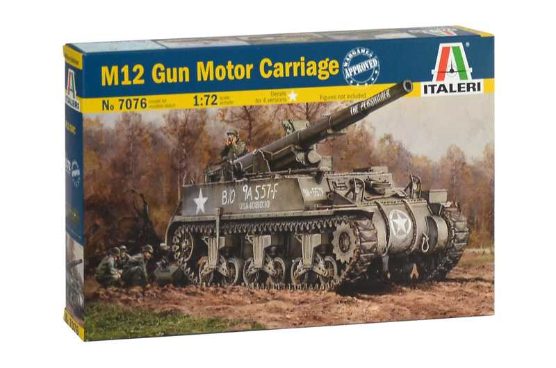 1:72 M12 Gun Motor Carriage