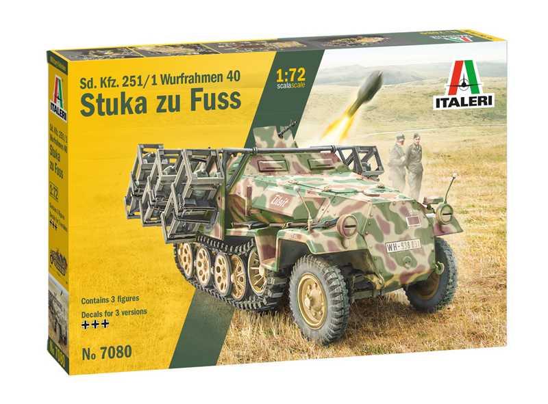 1:72 Sd.Kfz.251/1 Wurfrahmen Stuka zu Fuss