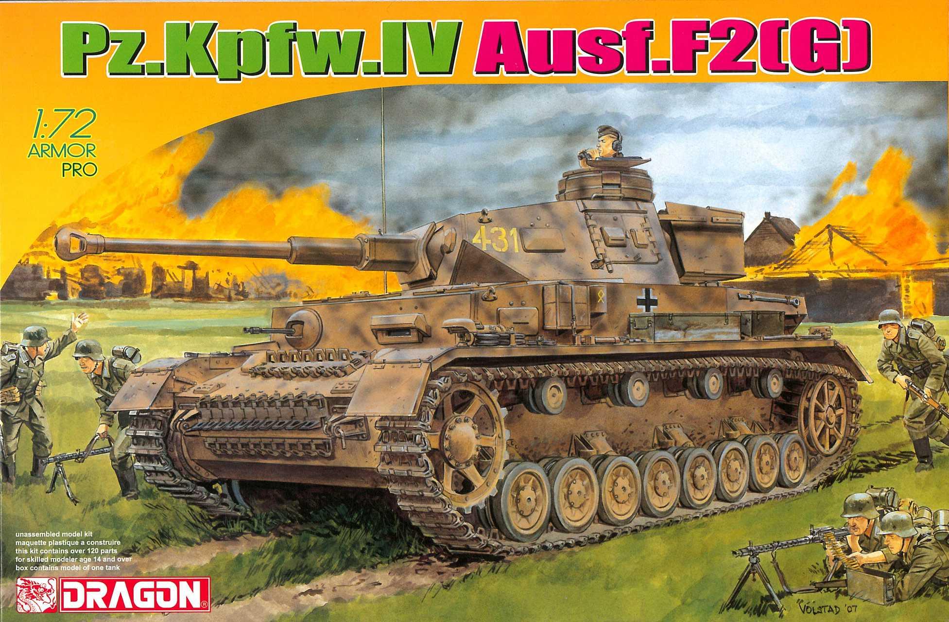 1:72 Pz.Kpfw.IV Ausf.F2(G)