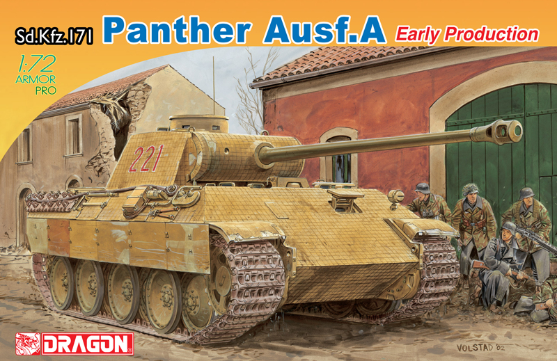 1:72 Sd. Kfz. 171 PANTHER Ausf.A EARLY PRODUCTION