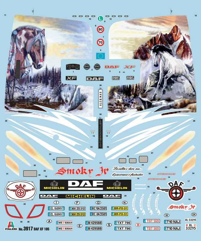 1:24 DAF XF105 Smoky Jr.