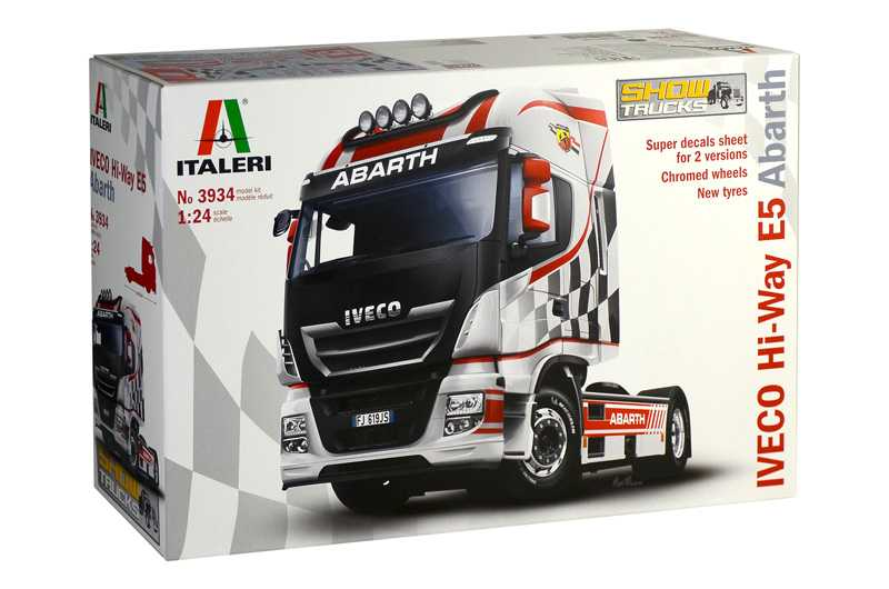 1:24 IVECO Hi-Way E5 Abarth