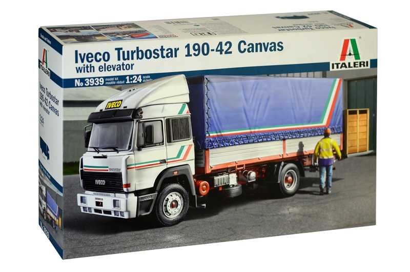 1:24 Iveco Turbostar 190-42 Canvas