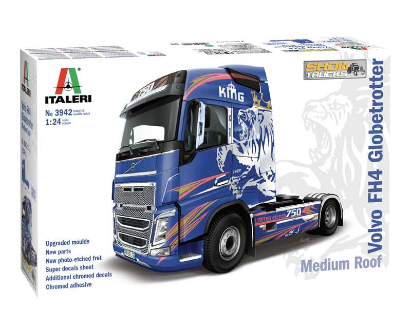 1:24 Volvo FH4 Globetrotter, Medium Roof