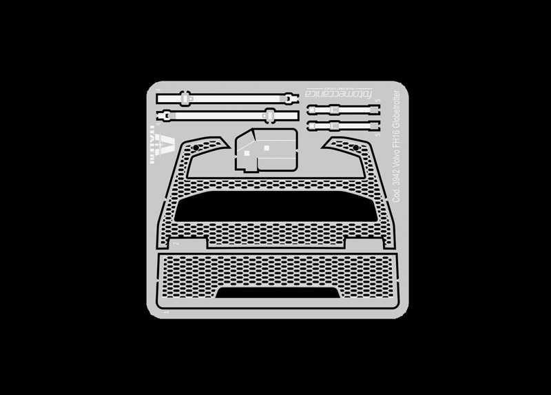 1:24 Volvo FH4 Globetrotter, Medium Roof