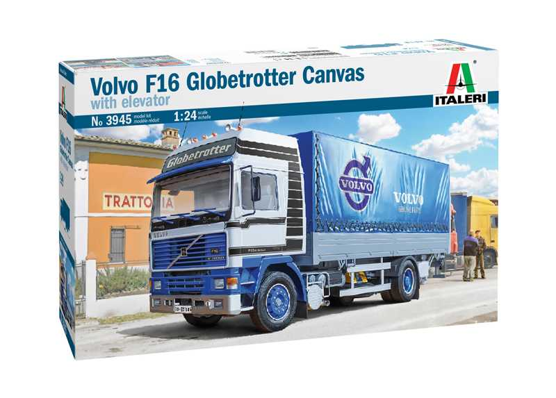 1:24 Volvo F16 Globetrotter Canvas