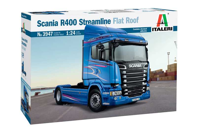 1:24 Scania R400 Streamline Flat Roof
