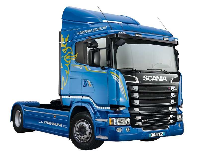 1:24 Scania R400 Streamline Flat Roof