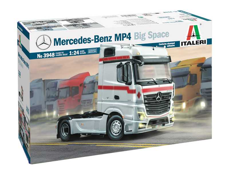 1:24 Mercedes-Benz Actros MP4 Big Space