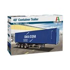 Model Kit truck 3951 - 40' Container Trailer (1:24)