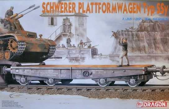 1:35 Schwerer Plattformwagen Typ SSy