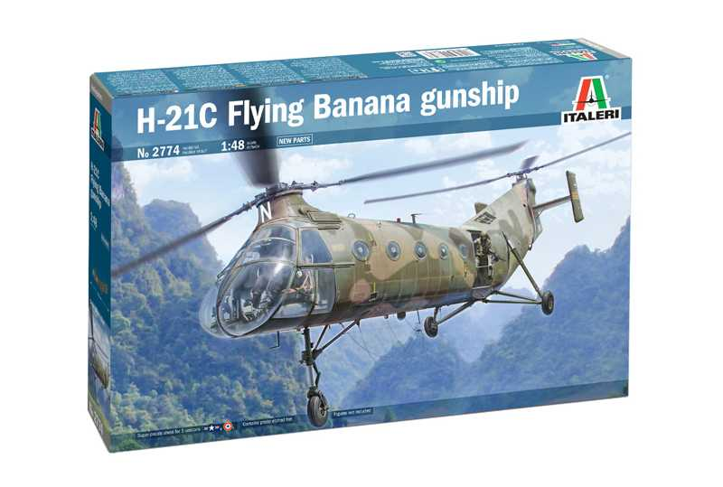 1:48 H-21C Flying Banana GunShip
