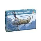 Model Kit vrtulník 2774 - H-21C Flying Banana GunShip (1:48)
