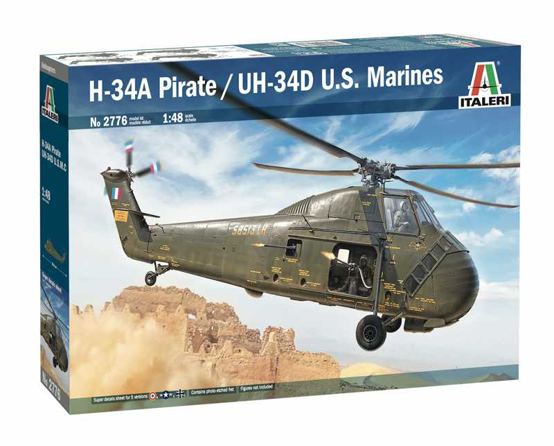 1:48 Sikorsky H-34A Pirate / UH-34D, U.S. Marines
